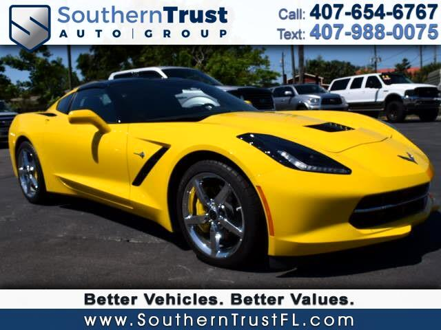 2015 Chevrolet Corvette 2LT Coupe Manual