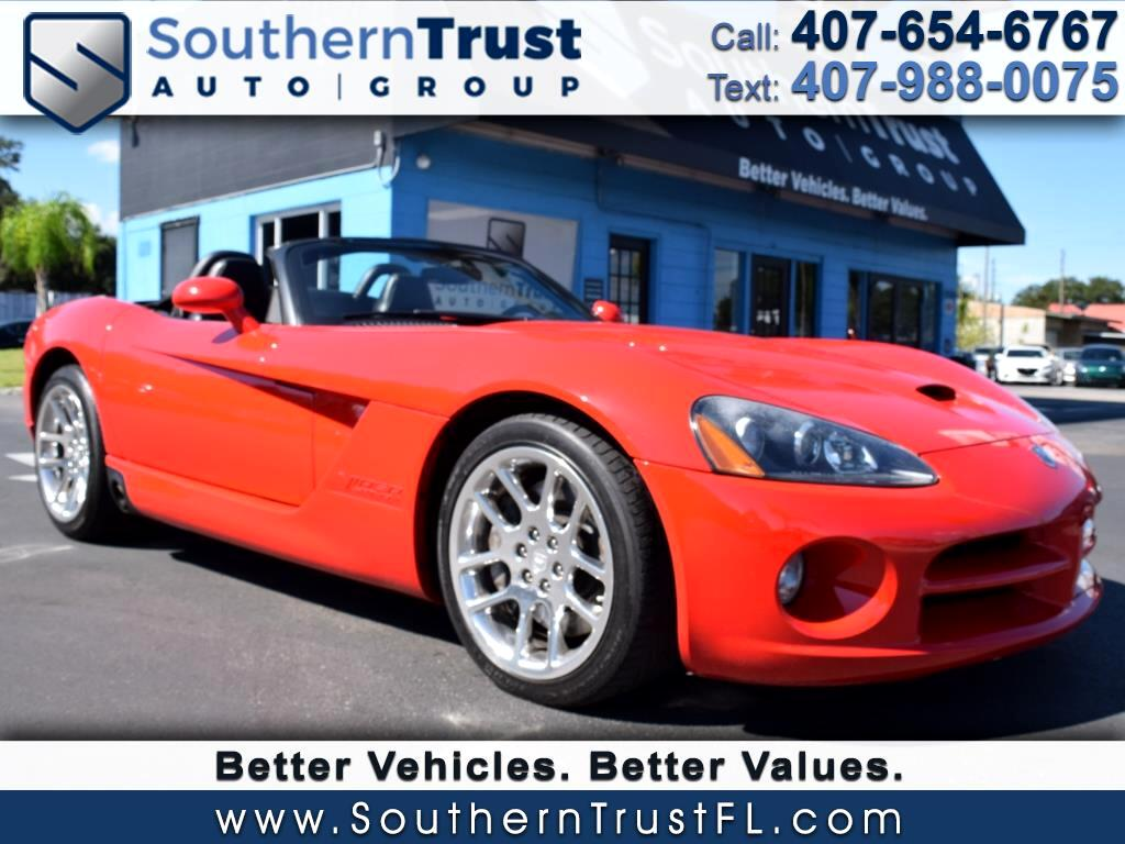 2003 Dodge Viper 2dr SRT-10 Convertible
