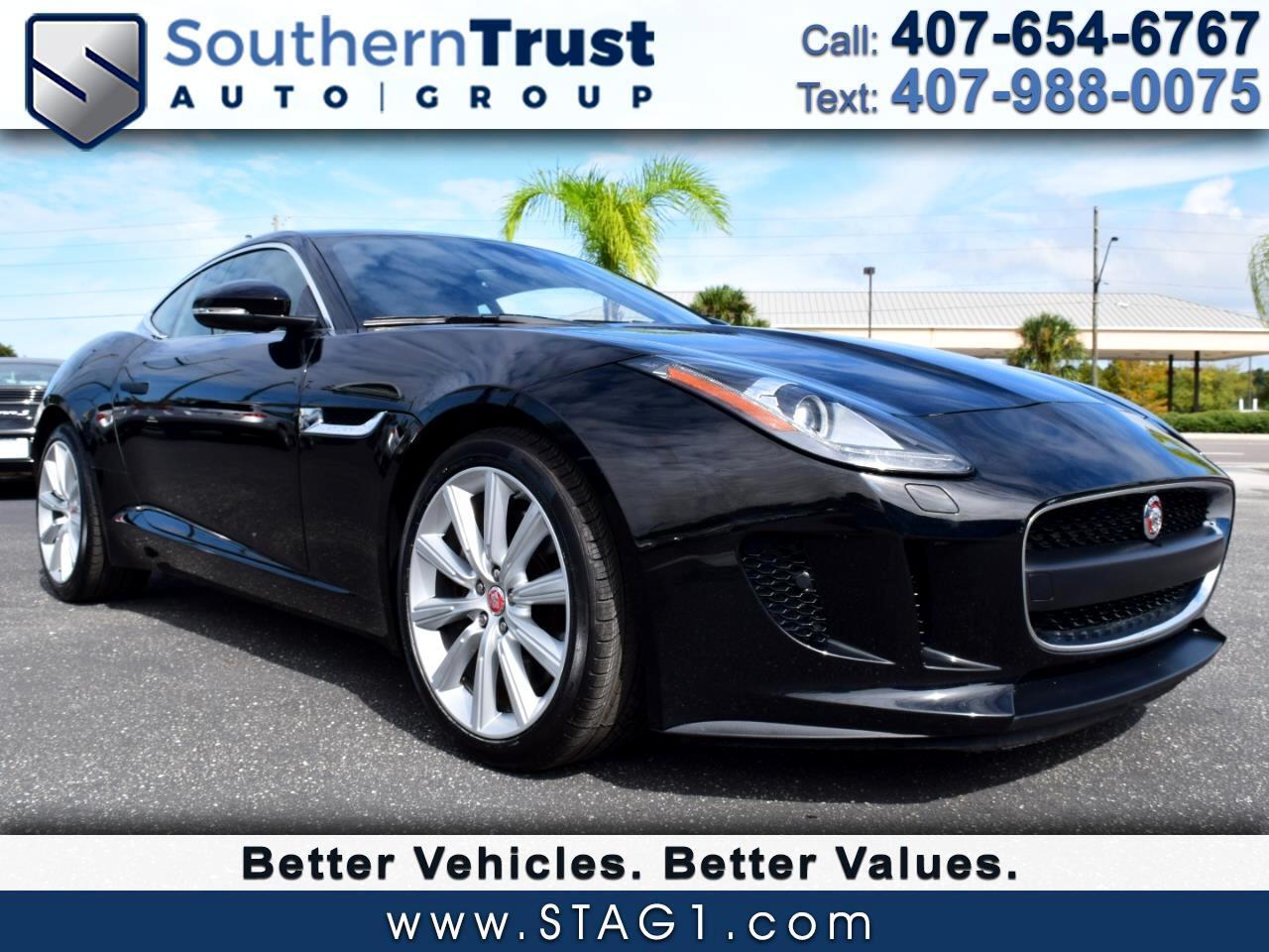 2015 Jaguar F-Type 2dr Cpe V6