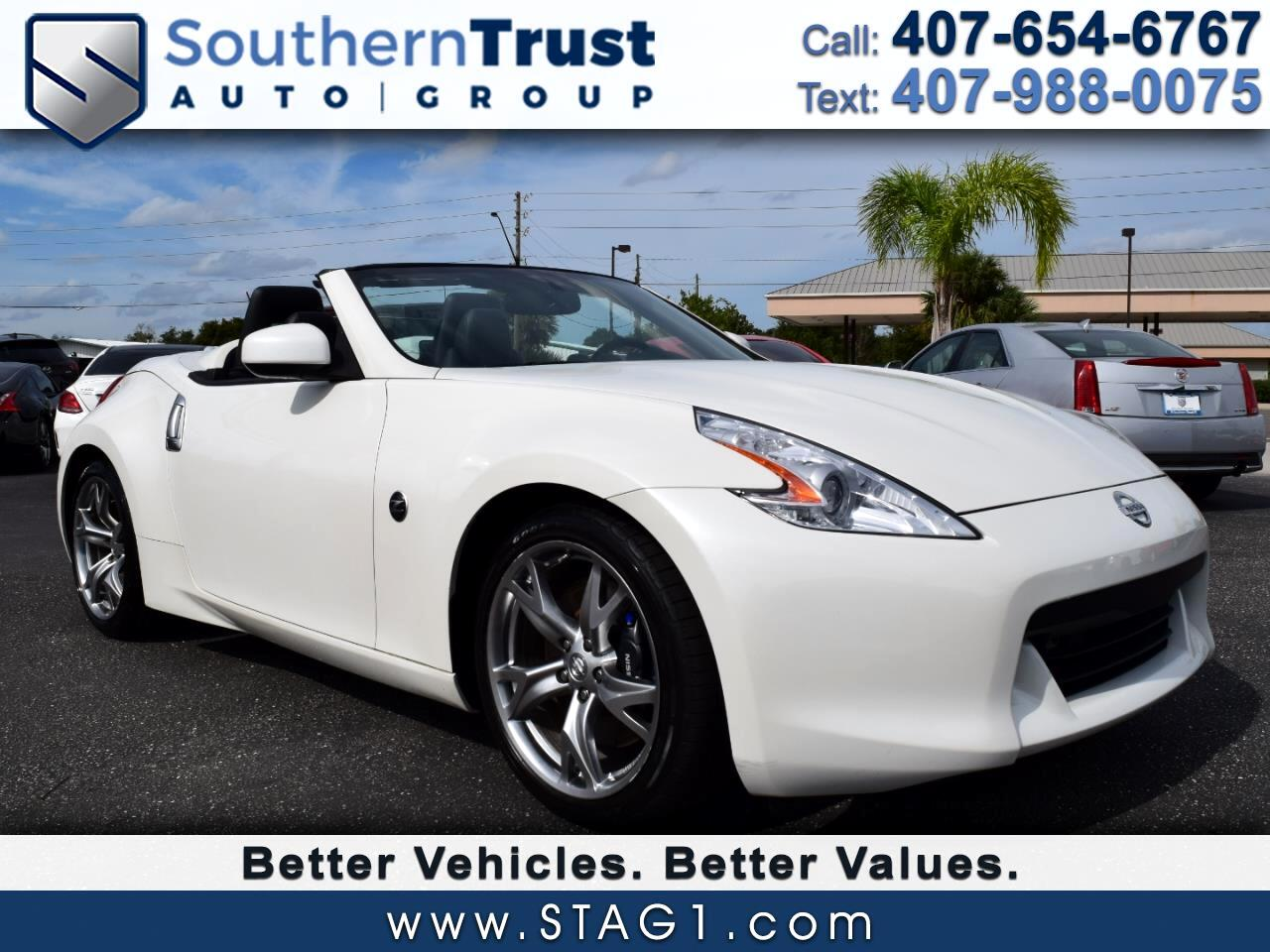 2010 Nissan 370Z 2dr Roadster Manual Touring