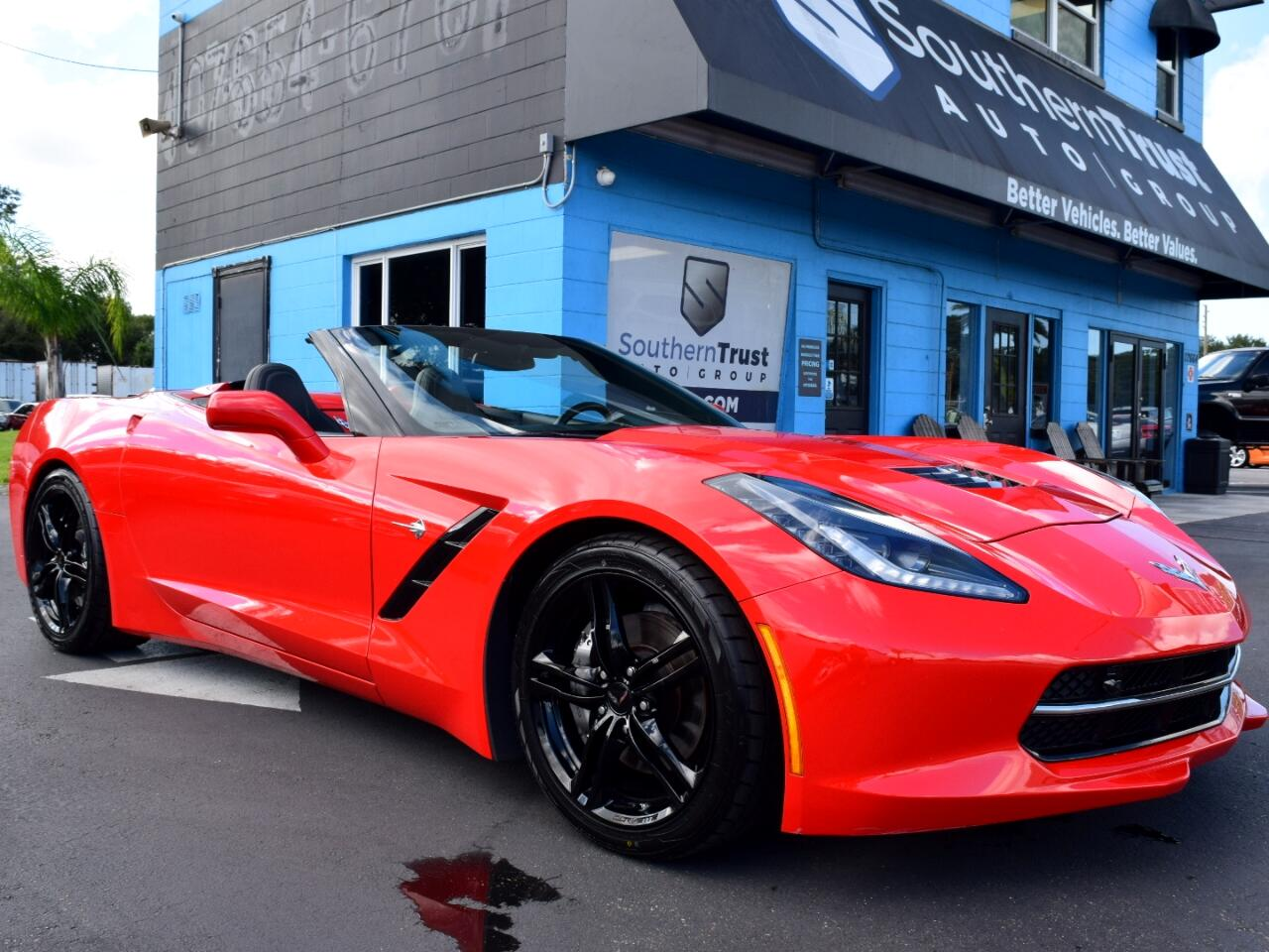 2016 Chevrolet Corvette 2dr Stingray Conv w/2LT
