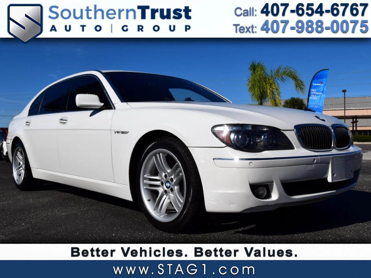 2008 BMW 7 Series 4dr Sdn 760Li