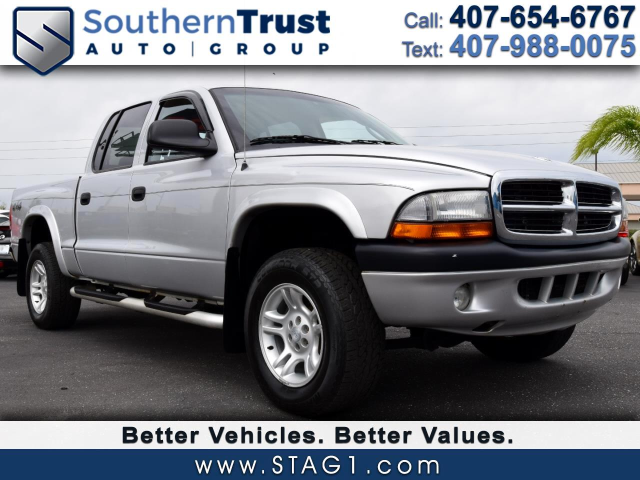 2004 Dodge Dakota 4dr Quad Cab 131