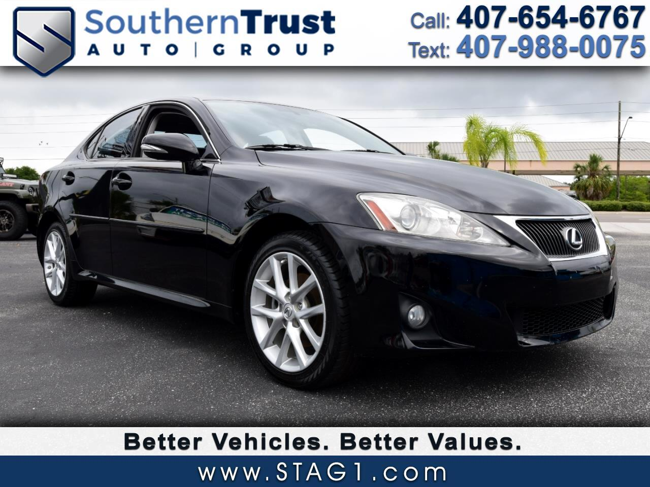 2011 Lexus IS 250 4dr Sport Sdn Auto AWD