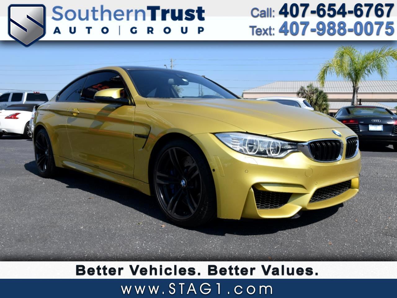 2015 BMW M4 2dr Cpe