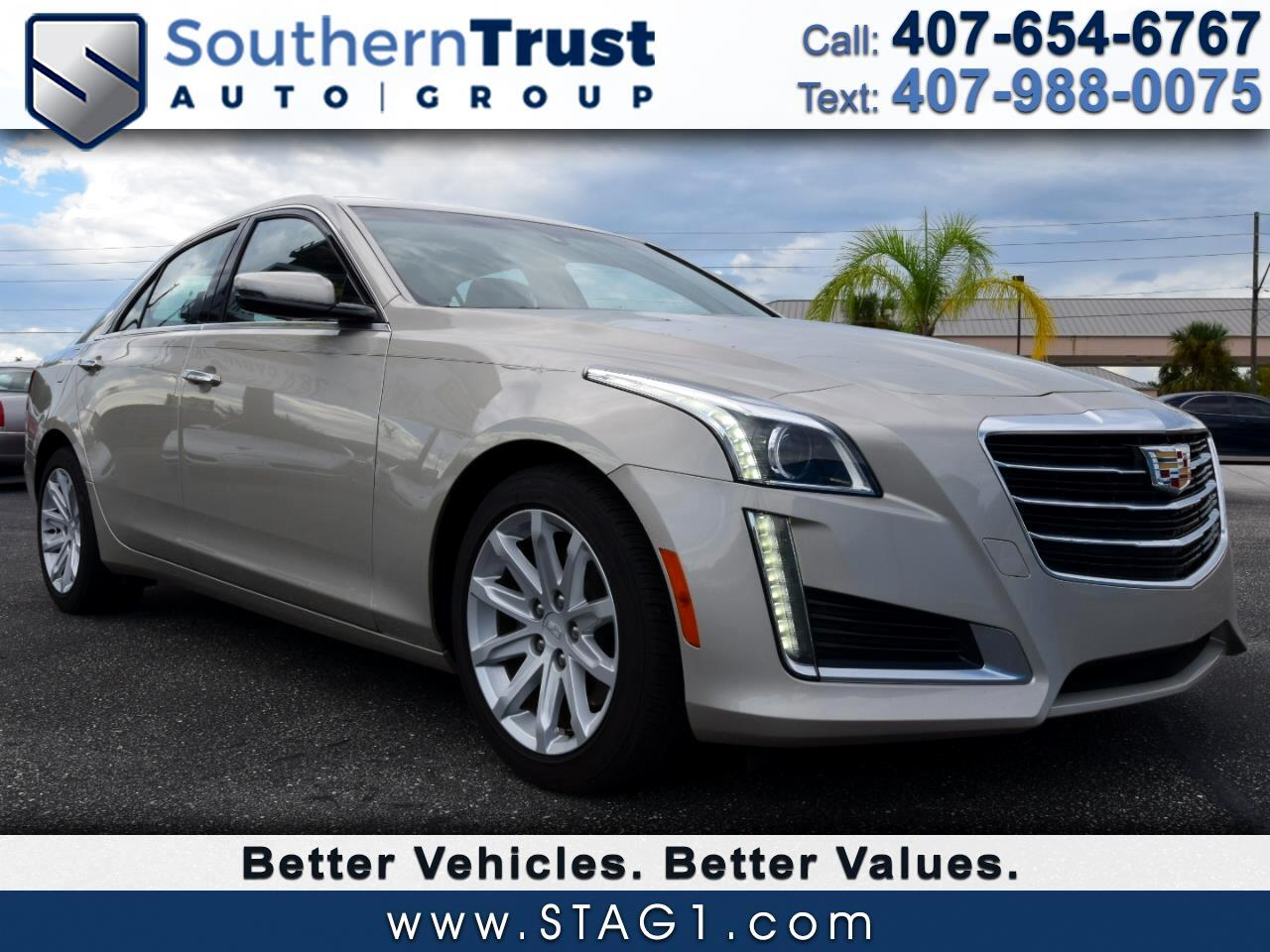 2016 Cadillac CTS Sedan 4dr Sdn 2.0L Turbo RWD