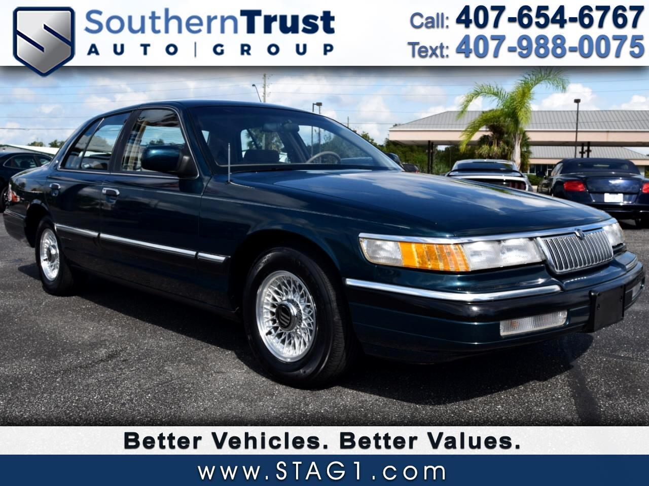 Mercury Grand Marquis 4dr Sedan LS 1994