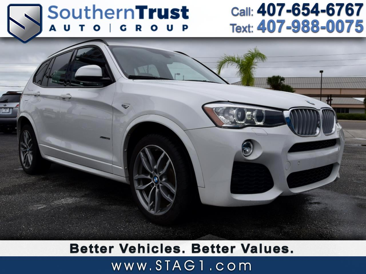BMW X3 AWD 4dr xDrive28i 2016