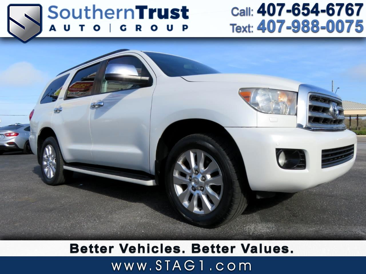 Toyota Sequoia RWD 4dr LV8 6-Spd AT Platinum (Natl) 2008