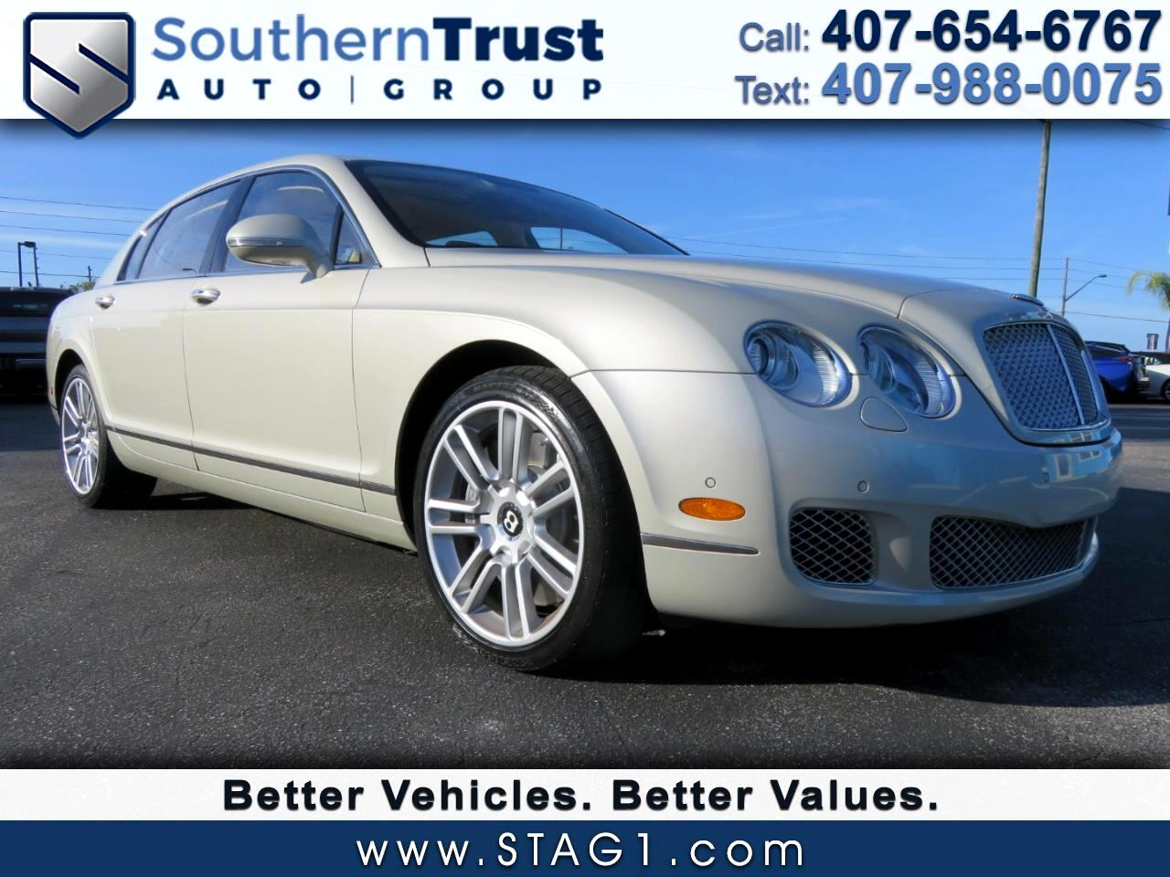 Bentley Continental Flying Spur 4dr Sdn 2010
