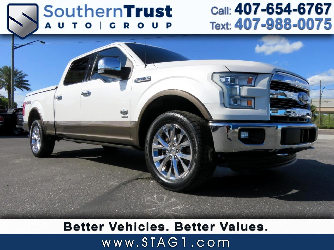 """Ford F-150 4WD SuperCrew 157"""" King Ranch 2015"""