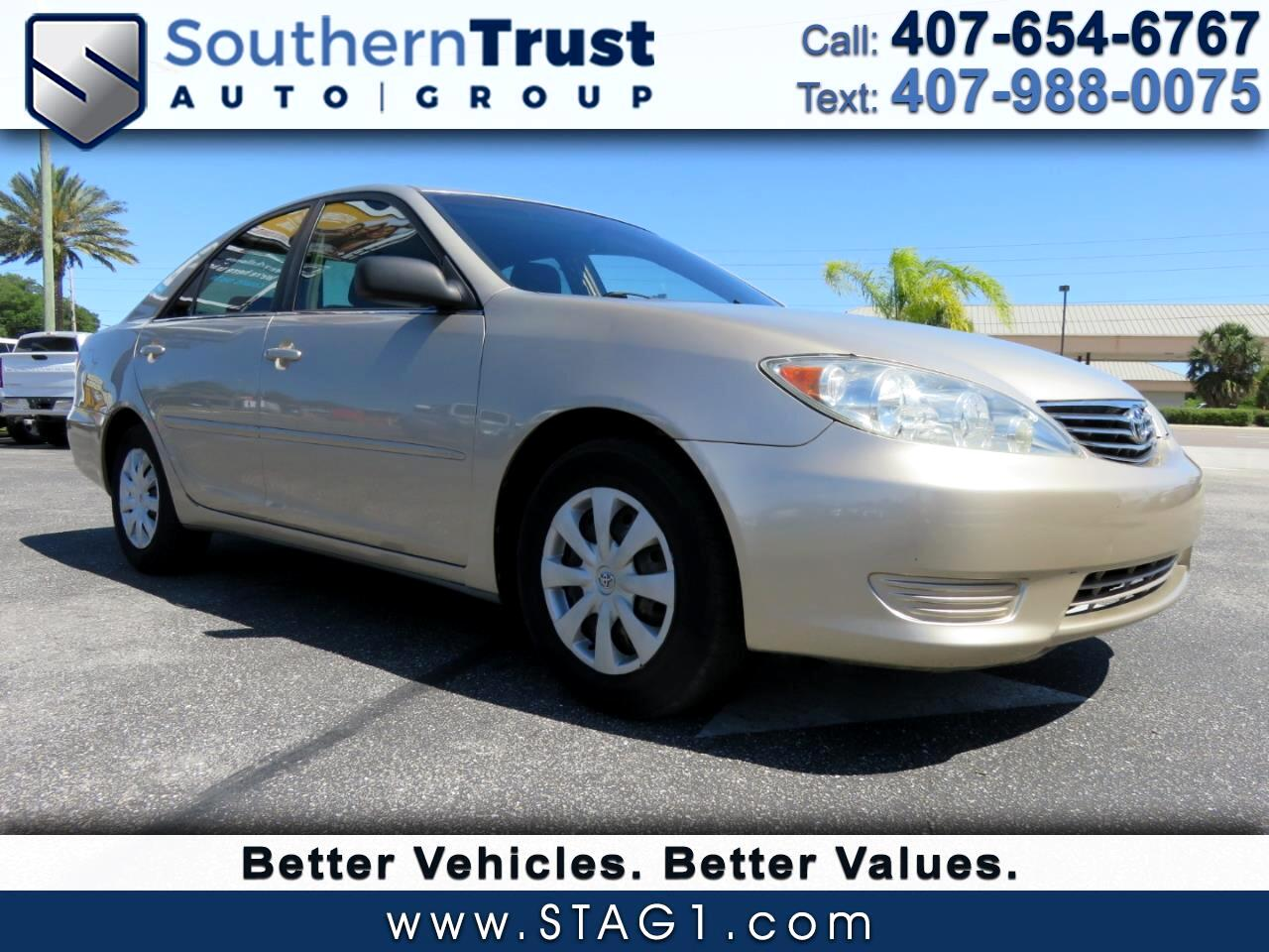 Toyota Camry 4dr Sdn XLE Auto (Natl) 2005