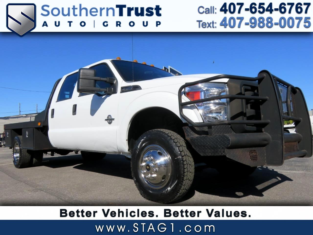 "Ford Super Duty F-350 DRW 4WD Crew Cab 176"" WB 60"" CA XL 2011"