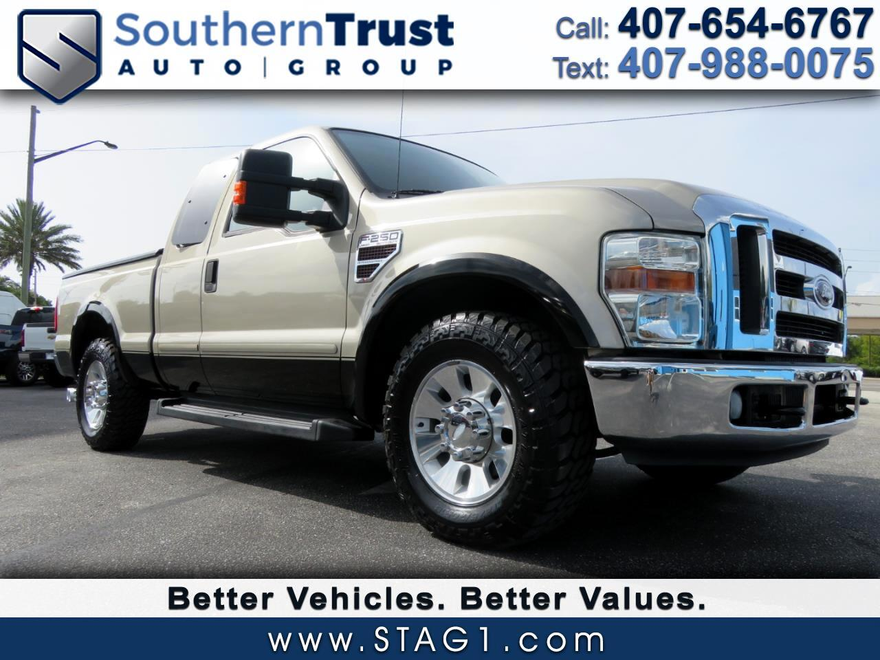 "Ford Super Duty F-250 SRW 2WD SuperCab 142"" Lariat 2008"