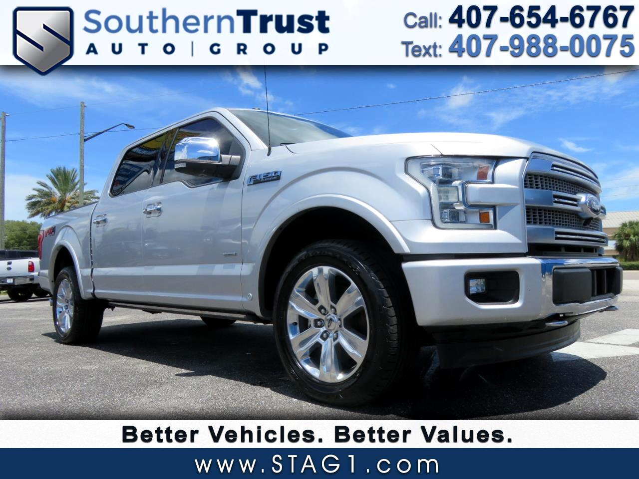 Ford F-150 Platinum 4WD SuperCrew 5.5' Box 2017