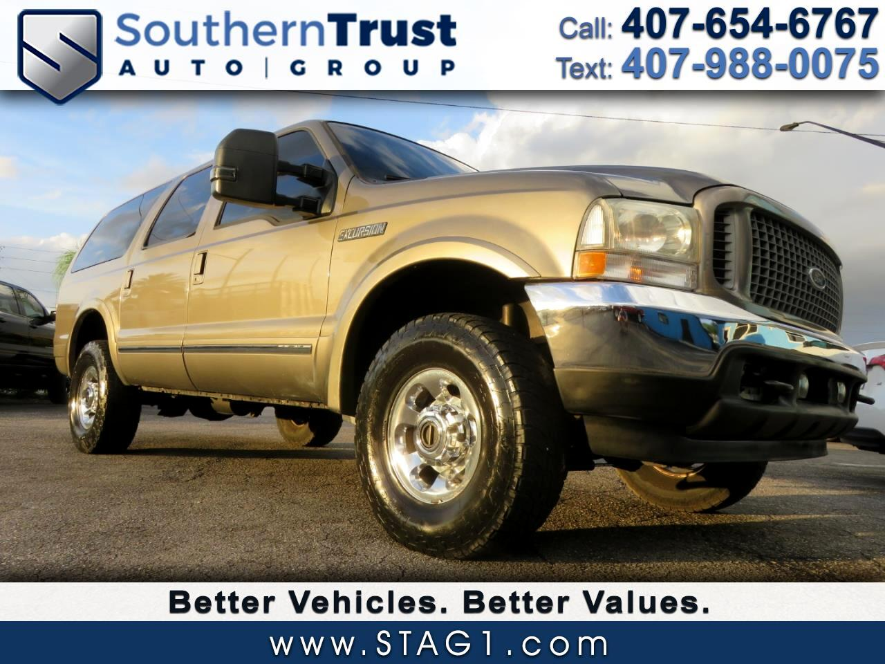 "Ford Excursion 137"" WB 7.3L Limited 4WD 2003"