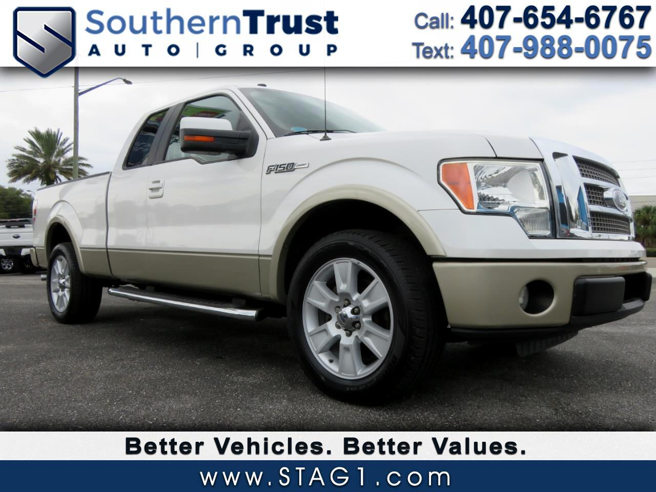 """Ford F-150 2WD SuperCab 145"""" Lariat 2010"""