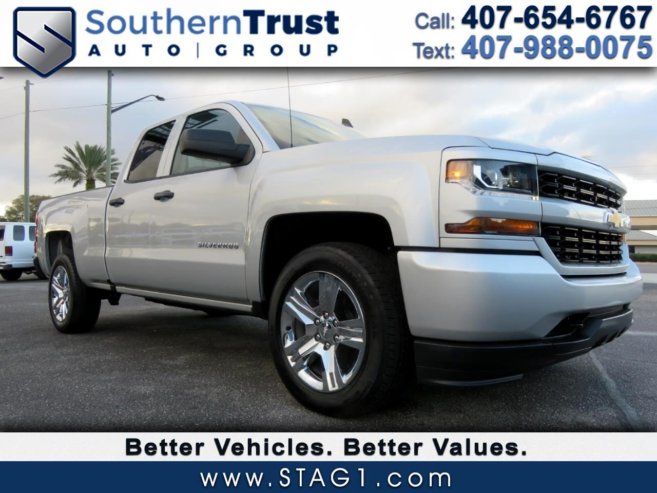 "Chevrolet Silverado 1500 2WD Double Cab 143.5"" Custom 2018"