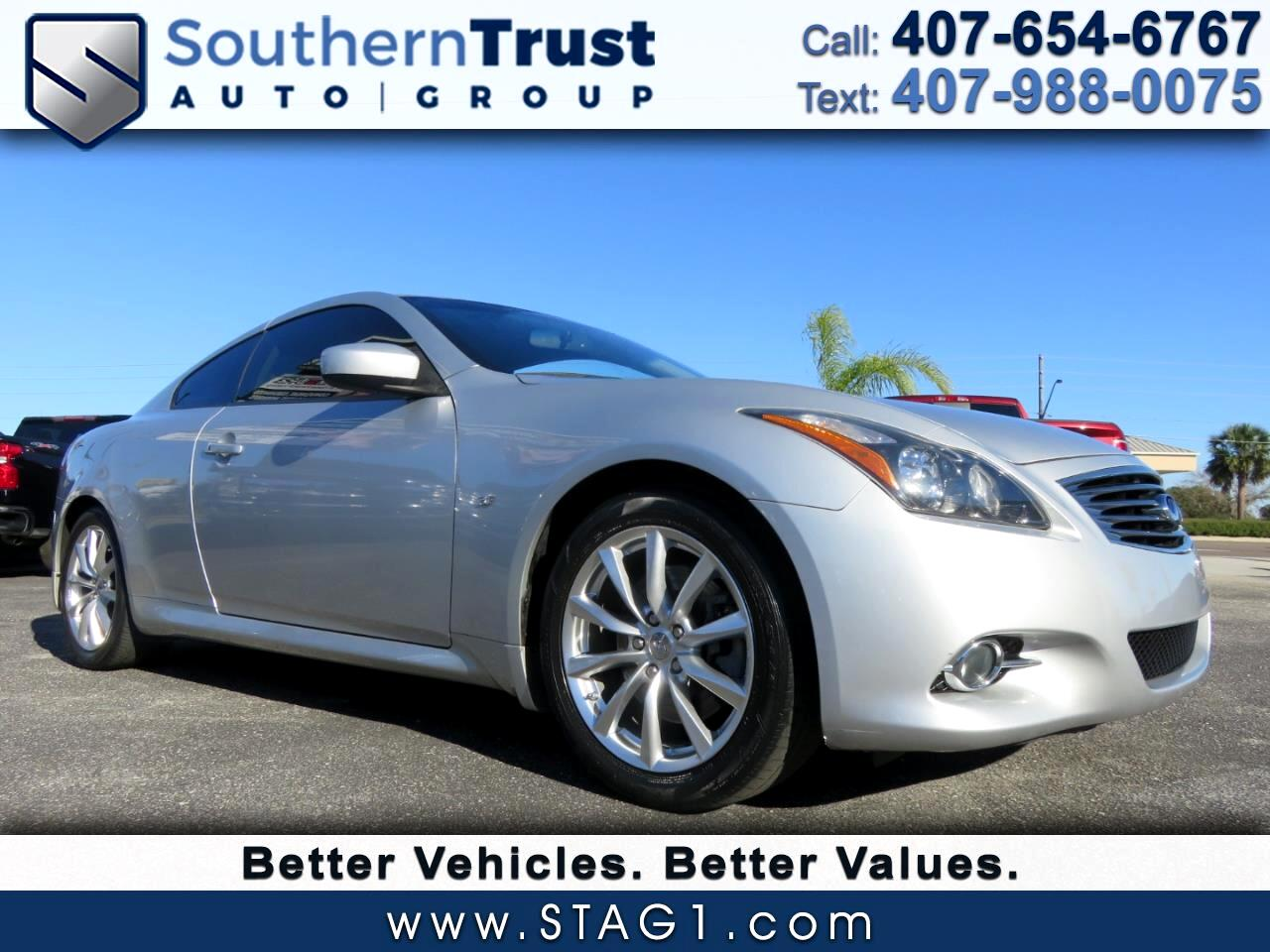Infiniti Q60 Coupe 2dr Auto Journey RWD 2014