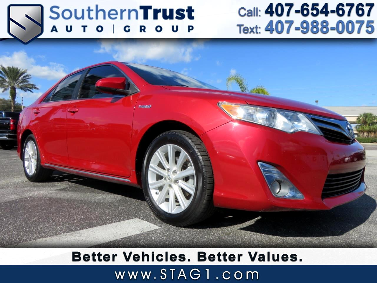 Toyota Camry Hybrid 4dr Sdn XLE (Natl) 2012
