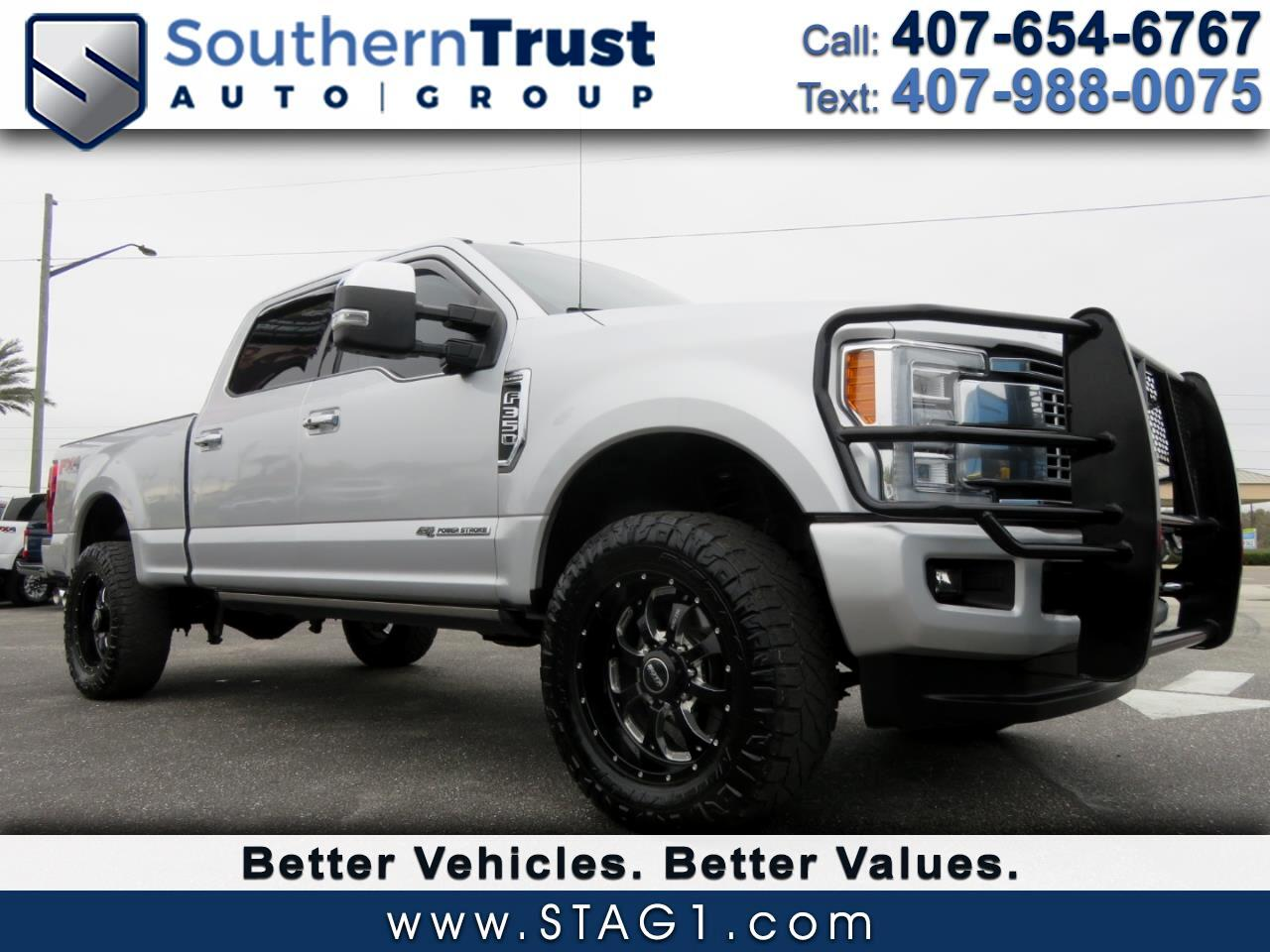 Ford Super Duty F-350 SRW Platinum 4WD Crew Cab 8' Box 2017