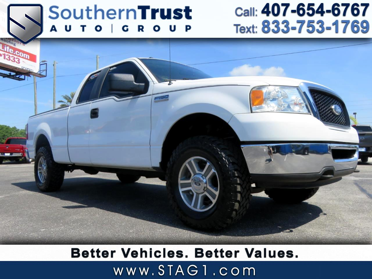 "Ford F-150 4WD SuperCab 145"" XLT 2007"