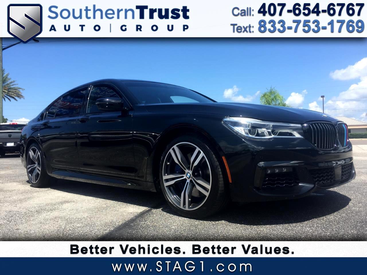 BMW 7 Series 750i Sedan 2018