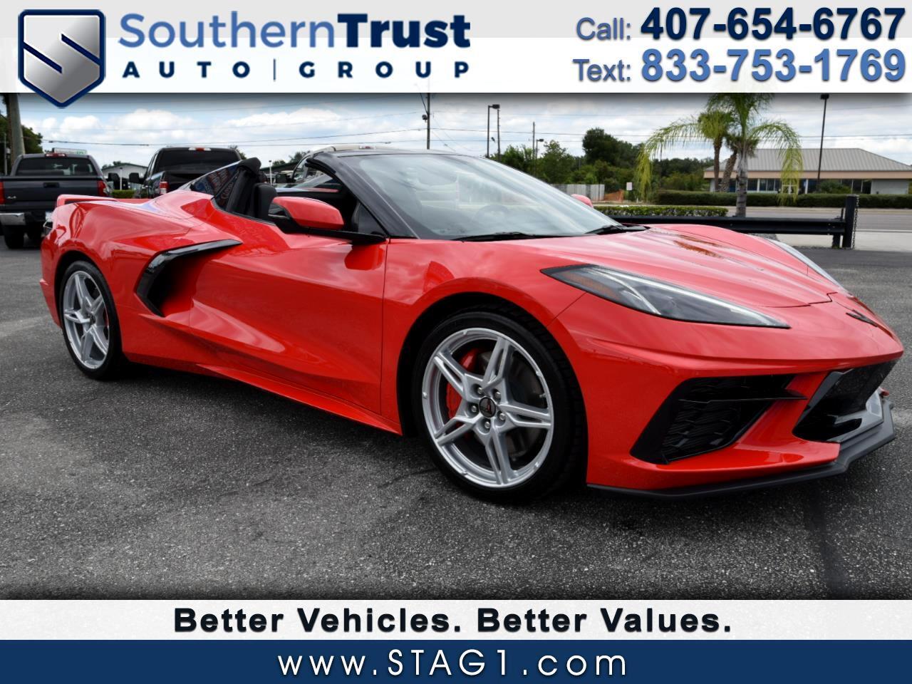 Chevrolet Corvette 2dr Stingray Conv w/2LT 2021
