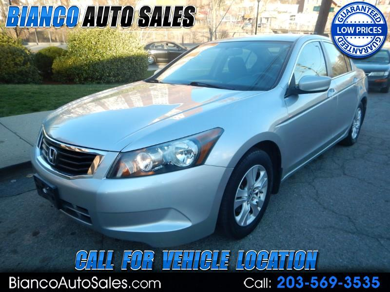 2009 Honda Accord Sedan 4dr I4 Man LX