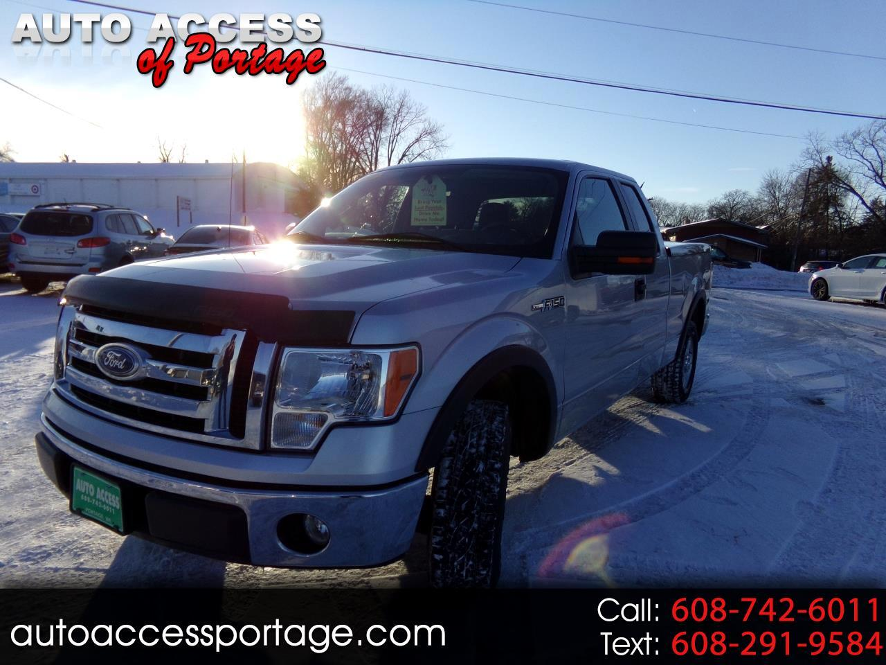"2010 Ford F-150 2WD SuperCab 145"" XL"