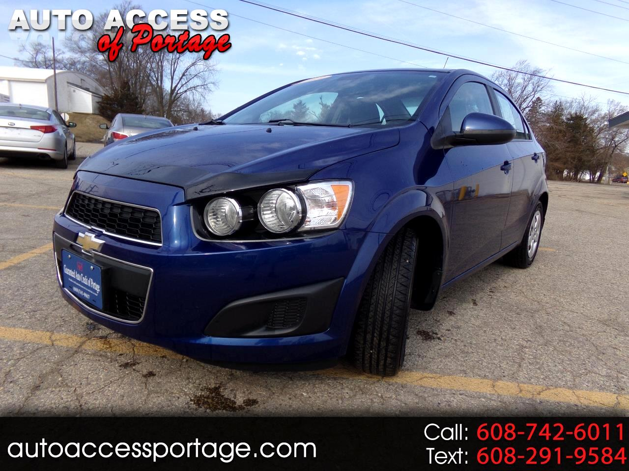 2013 Chevrolet Sonic 4dr Sdn Manual LS