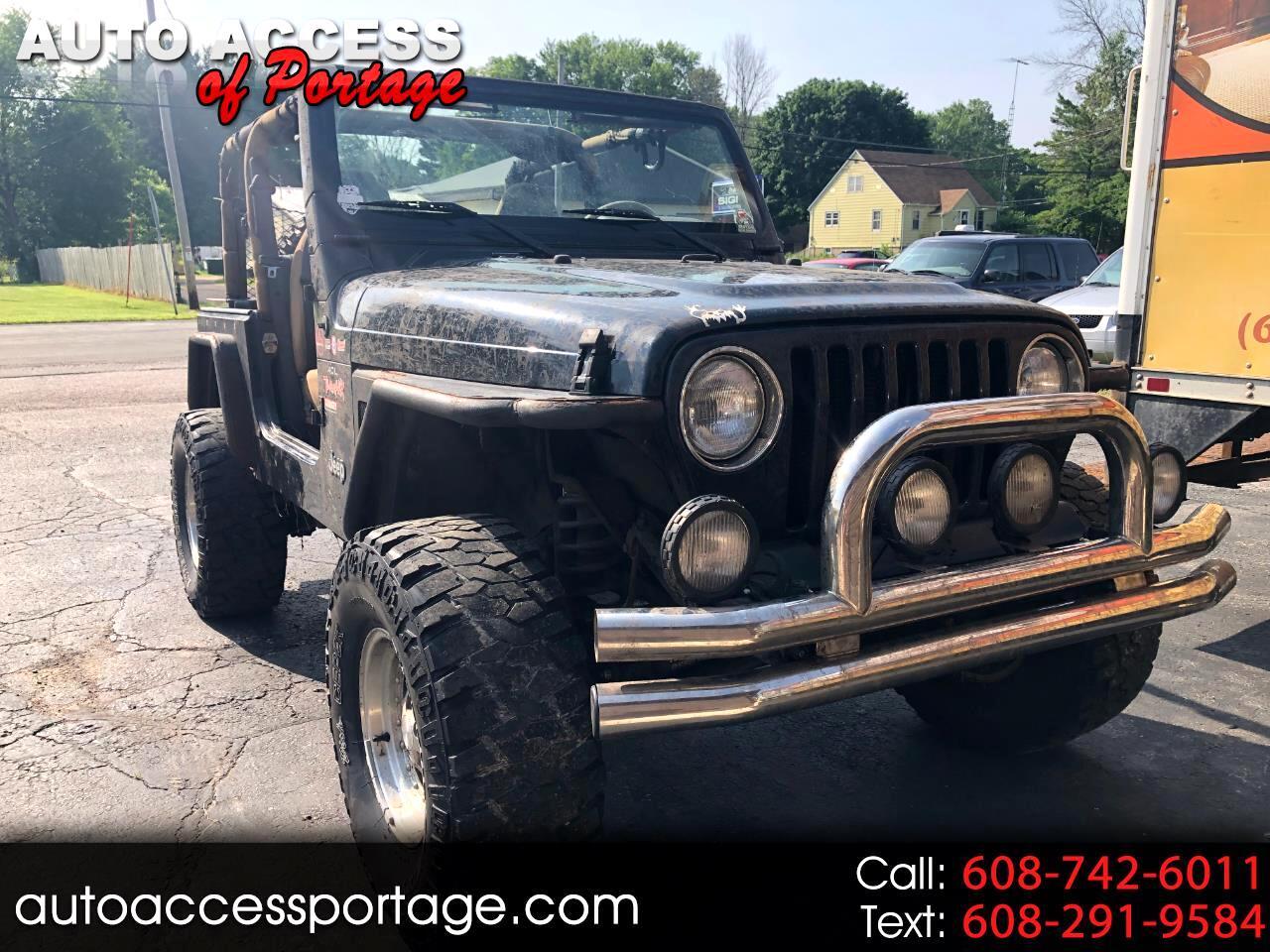 Jeep Wrangler 2dr Sahara 1998