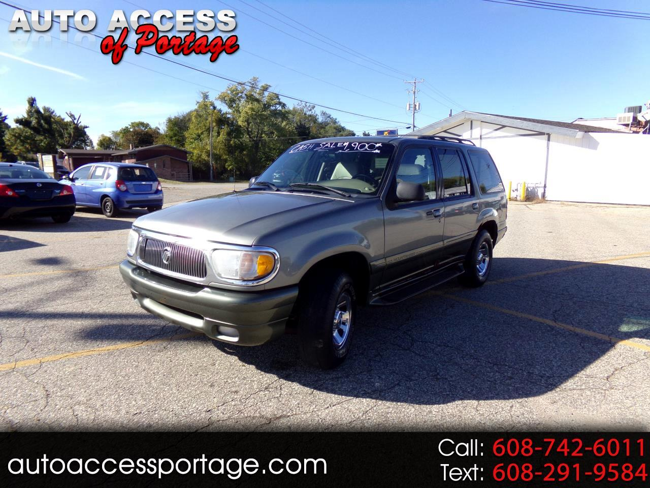 """2000 Mercury Mountaineer 4dr 112"""" WB 4WD"""