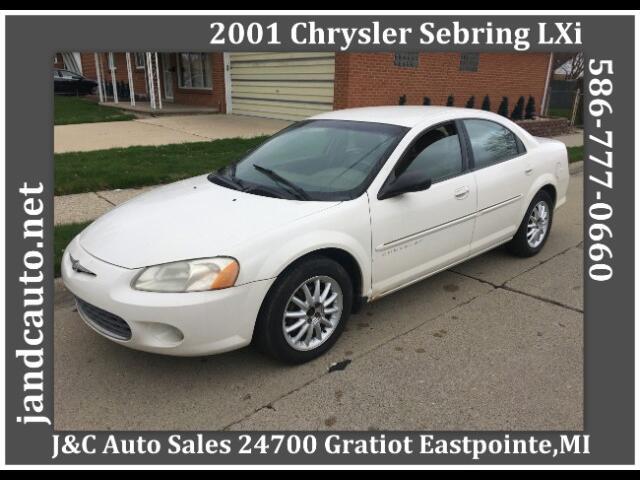 2001 Chrysler Sebring LXi Sedan