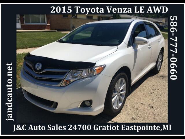 2015 Toyota Venza LE I4 AWD