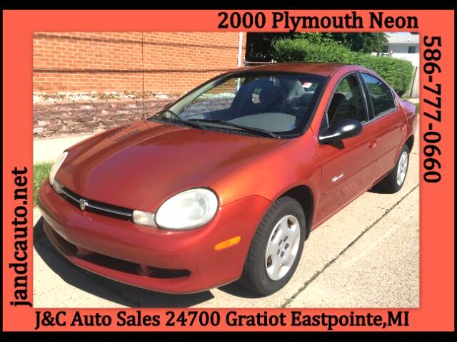 2000 Plymouth Neon Sedan
