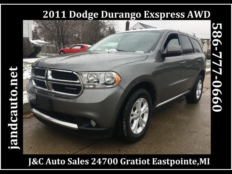 2011 Dodge Durango Express AWD