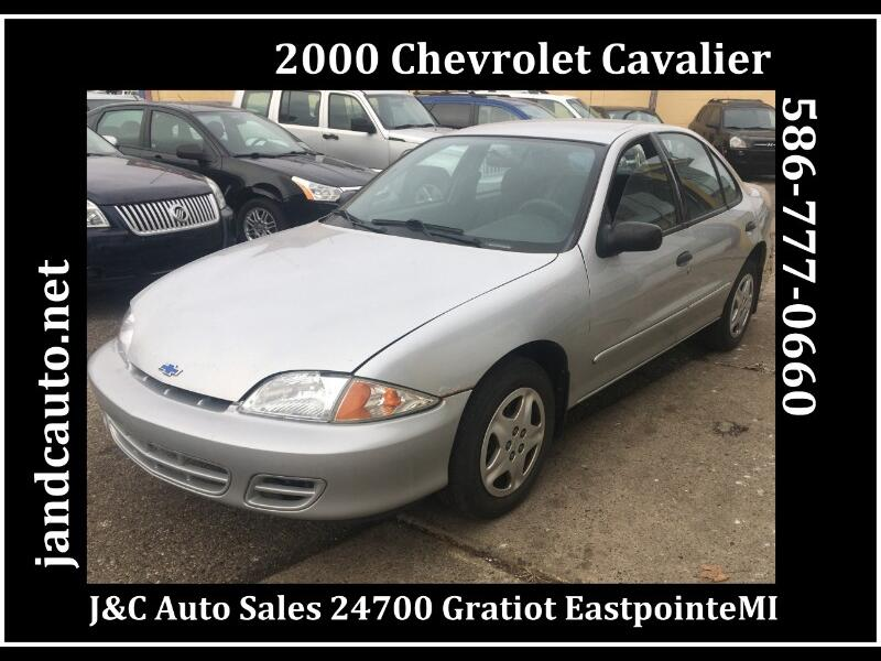 2000 Chevrolet Cavalier LS Sedan