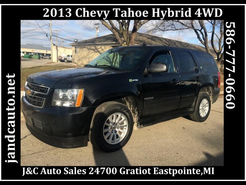 2013 Chevrolet Tahoe Hybrid 4WD