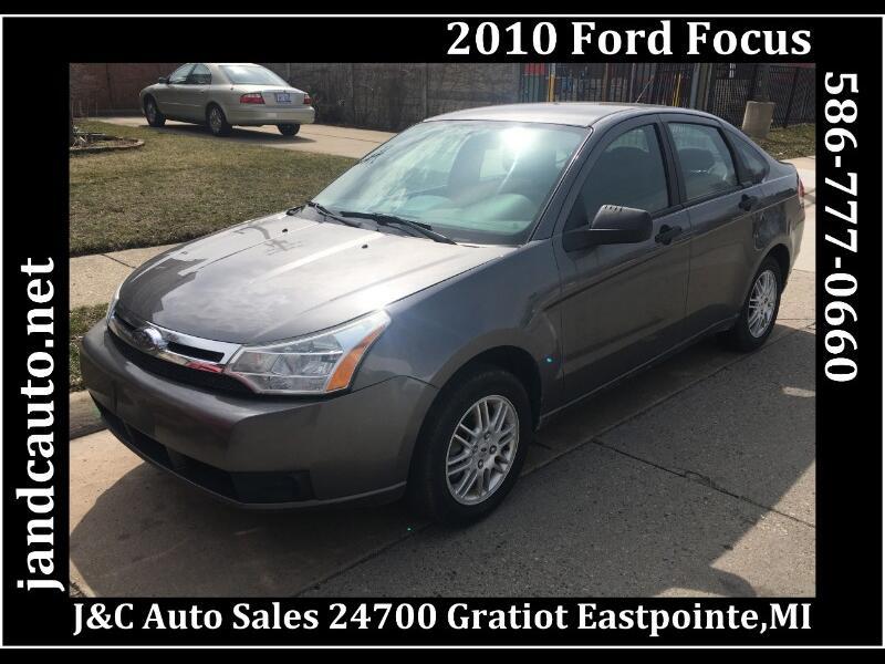 2010 Ford Focus SE Sedan
