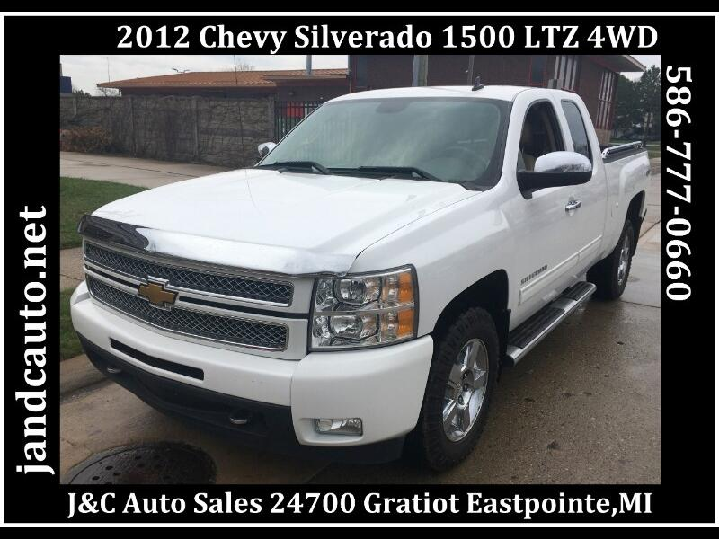 2012 Chevrolet Silverado 1500 LTZ Ext. Cab Long Box 4WD