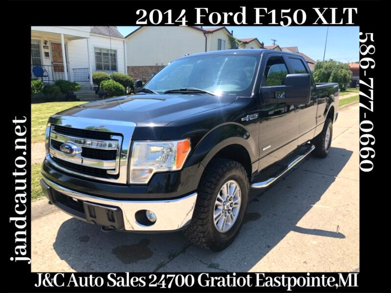 "2014 Ford F-150 SuperCrew 139"" XLT 4WD"