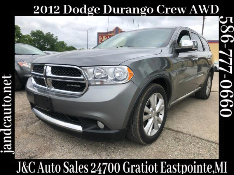 2012 Dodge Durango Crew AWD