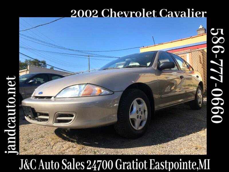 2002 Chevrolet Cavalier 2dr Base Cpe