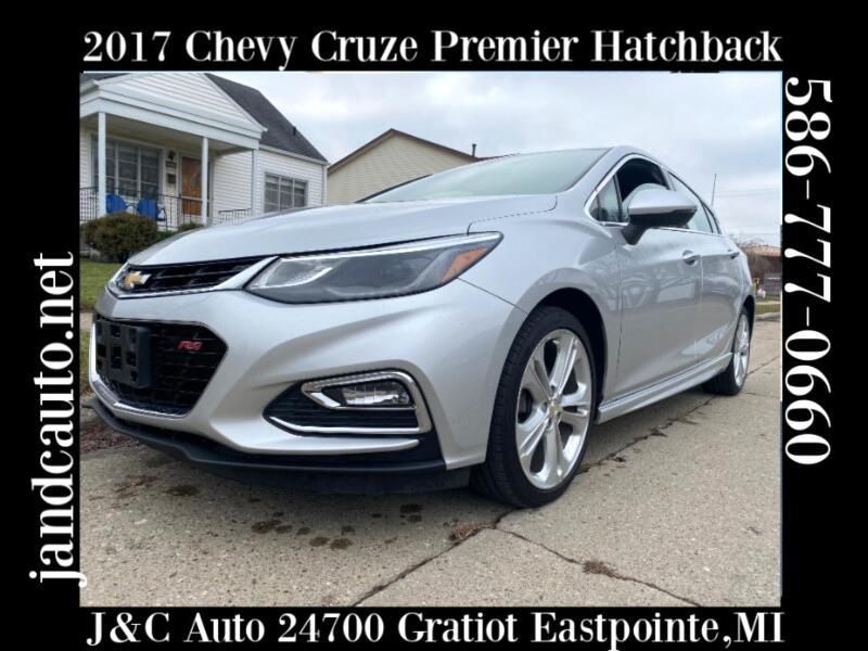 Chevrolet Cruze Premier Hatchback 2017