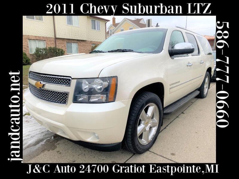 Chevrolet Suburban LTZ 1500 4WD 2011