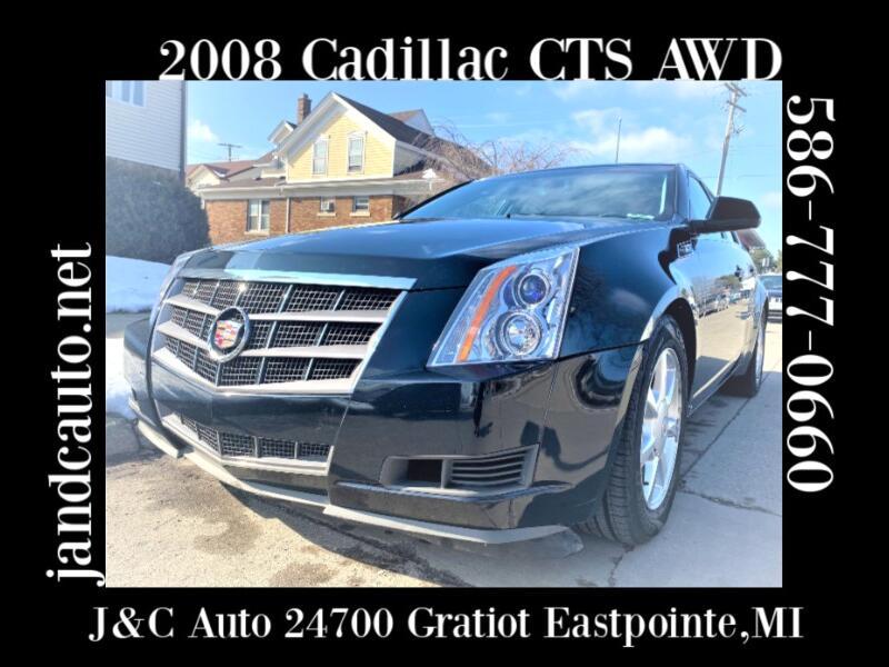 Cadillac CTS 3.6L SFI AWD 2008