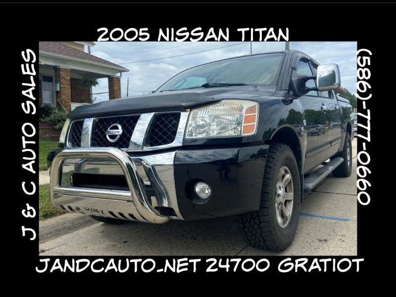 Nissan Titan XE Crew Cab 4WD 2004
