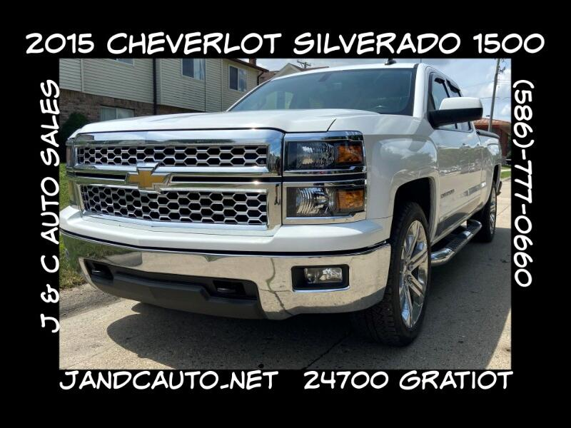 Chevrolet Silverado 1500 LT Double Cab 4WD 2015