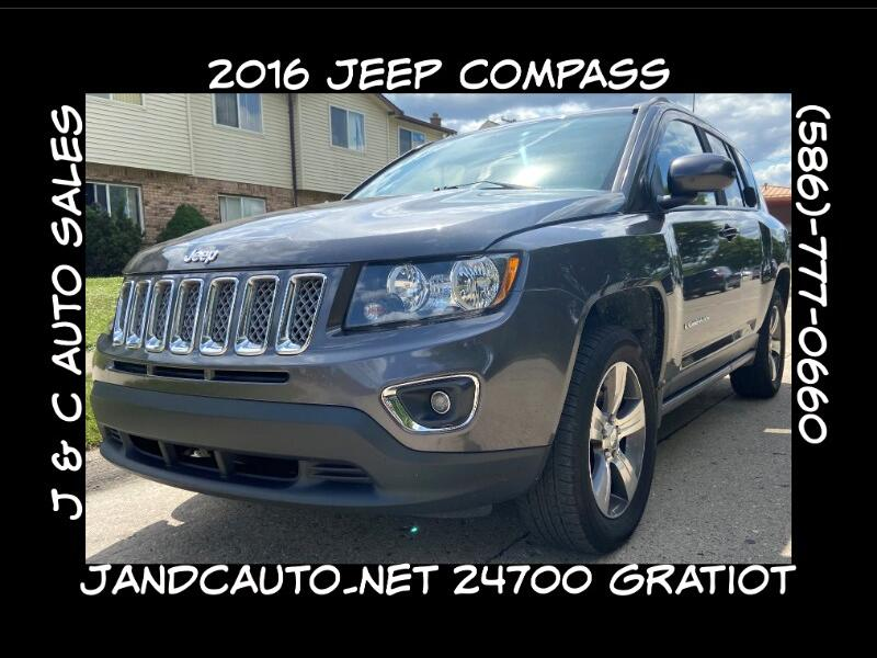 Jeep Compass Latitude 4WD 2016